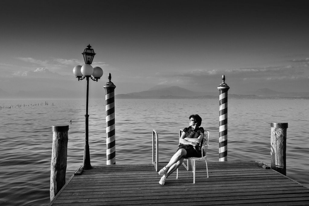 Giovanni Brighente terzo classificato Lake Garda Photo Challenge 2019 - Tema Sirmione